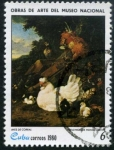 Sellos de America - Cuba -  Obras del Museo Nacional
