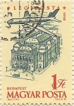 Stamps Hungary -  BUDAPEST