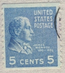 Stamps America - United States -  James Monroe
