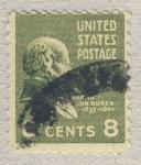Sellos de America - Estados Unidos -  Martin Van Buren