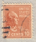 Stamps America - United States -  John Tyler