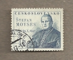 Stamps Czechoslovakia -  150 Aniv nacimiento de Stefan Moyses
