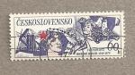 Stamps Czechoslovakia -  30 Aniv. del movimiento de la paz