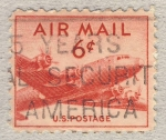 Stamps United States -  DC-4 Skymaster