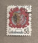 Stamps Czechoslovakia -  Escudo Kutna Hora