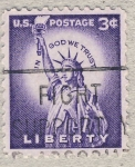 Stamps United States -  Statue of Liberty
