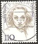 Sellos del Mundo : Europa : Alemania : 1769 - Marlene Dietrich, actriz de cine
