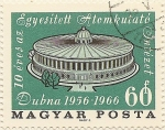 Stamps Hungary -  DUbna 1956-1966