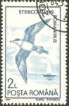 Stamps : Europe : Romania :  fauna, stercorarius romarinus
