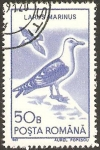 Sellos de Europa - Rumania -  fauna, larus marinus