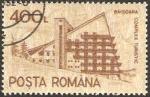 Stamps : Europe : Romania :  1991 - 3976 D - Complejo turistico Baisoara