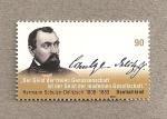 Sellos de Europa - Alemania -  Herman Schulze-Delitzsch, economista