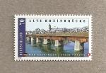 Sellos de Europa - Alemania -  Viejo puente sobre el Rhin