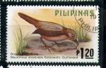 Sellos de Asia - Filipinas -  Tit-babbler