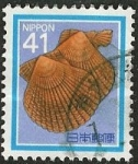 Stamps Japan -  Conchas