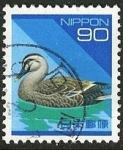 Stamps Japan -  Pato