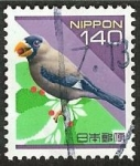 Stamps Japan -  Pájaro