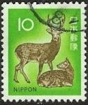 Stamps Japan -  Ciervos