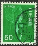 Stamps : Asia : Japan :  Escultura