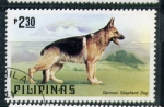 Stamps Asia - Philippines -  pastor aleman