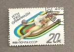 Sellos de Europa - Rusia -  Olimpiadas Seul, gimnasia rítmica