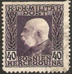 Stamps Bosnia Herzegovina -  francois joseph I