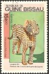 Stamps Guinea Bissau -  leopardo