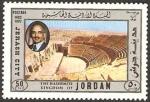 Stamps Asia - Jordan -  hussein y ciudad de jerash