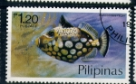 Sellos del Mundo : Asia : Filipinas : peces de arrecife