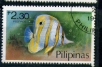 Stamps Asia - Philippines -  peces de arrecife