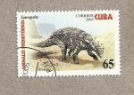 Sellos de America - Cuba -  Animales prehistóricos:Sauropelta