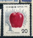 Sellos del Mundo : Asia : Japón : 100 años de la introducción de la manzana en japon
