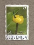 Stamps Slovenia -  Plantas acuáticas