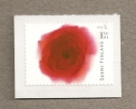 Stamps Finland -  Rosa