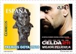 Stamps Europe - Spain -  Cine Español. Mejor Película Premios Goya 2010