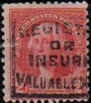 Stamps United States -  USA 1932 Scott 707 Sello Presidente George Washington usado Estados Unidos Etats Unis