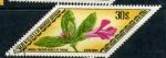 Stamps Asia - Mongolia -  serie- Plantas medicinales