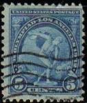 Stamps United States -  USA 1932 Scott 719 Sello Arte Discobolo Miron usado Estados Unidos Etats Unis