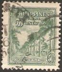 Stamps Philippines -  palmeras