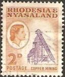 Stamps Africa - Malawi -  mina de cobre