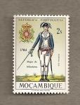 Stamps Mozambique -  Mayor de infantería