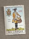 Sellos del Mundo : Africa : Mozambique : Tambor 1777