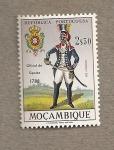 Stamps Mozambique -  Oficial de cipayos 1788