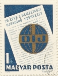 Stamps Hungary -  OIJ