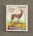 Sellos de Africa - Angola -  Cabra de Leque