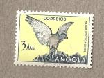 Sellos del Mundo : Africa : Angola : Ave Astur polyzonoides