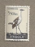 Sellos de Africa - Angola -  Ave Otis cafra