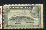 Sellos del Mundo : Europa : Gibraltar : jorge V