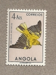 Stamps Angola -  Ave Oriolus notatus
