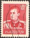 Stamps Iran -  reza phalevi